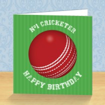 Cricketer Coaster Card