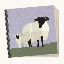 Sheep Coil Scrapbook