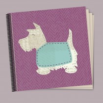 Scottie Pink Coil Scrapbook