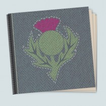 Thistle Dark Coil Scrapbook