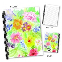 Floral Watercolour Notebook