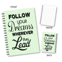 Follow Your Dreams' Notebook
