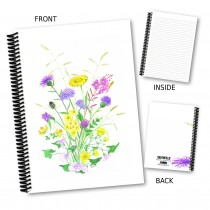 Pastel Floral Notebook