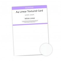White Linear Card - 20 Sheets