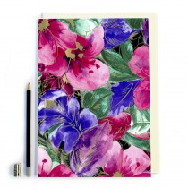 Pink/Purple Floral Notebook