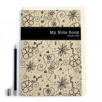 Floral 'My Note Book'