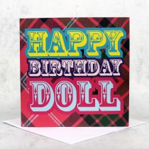 Birthday Doll Greeeting Card