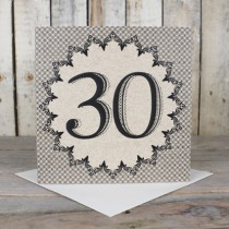 30th Eco Birthday Card