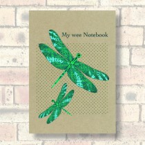 A5 Eco Notebook-Dragonflies