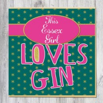Greeting Card-Gin