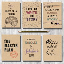 A6 Eco Notebook-Assorted