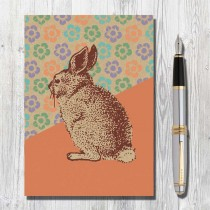 A5 Eco Notebook Rabbit