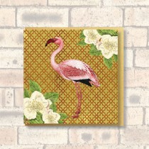 Greeting Card-Flamingo