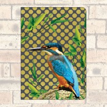 A5 Notebook-2 Round Corners-Kingfisher