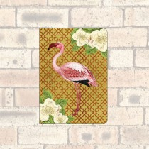 A6 Notebook-2 Round Corners-Flamingo