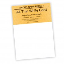 P -White Card 160gsm -30 sheets