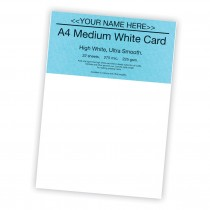 P -White Card 225gsm -22 sheets