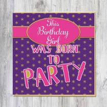 Greeting Card-Party