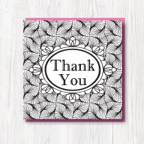 Colour-In Thank you card 4