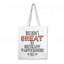 Britians Great White Printed Bag & Tag