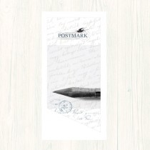 Postmark Smooth White DL Envs
