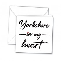In My Heart  Greeting Card