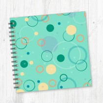 Wiro Bound Square Notebook-207