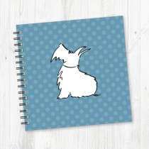 Wiro Bound Square Notebook-209