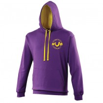 Varsity Hoodie with light Ink