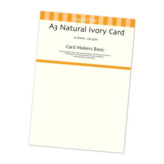 Natural Ivory Card 15 Sheets product image