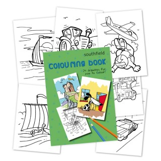 Boy Colouring in Book product image
