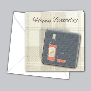 Whisky Coaster Card product image