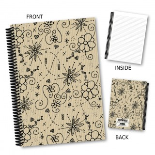 Floral Outline Notebook product image