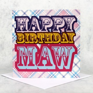 Birthday Maw Greeting Card product image