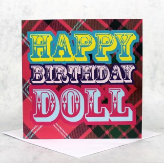 Birthday Doll Greeeting Card product image