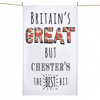 Britains Great Printed Tea Towel+Tag product image