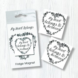 My Heart Belongs Bagged Magnet product image