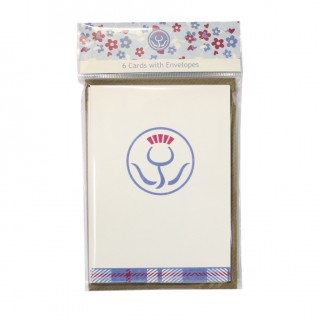 A6 Watercolour Notelets Bagged product image