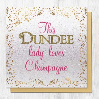 Champagne Greeting Card product image