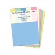 Pastel Card Assortd 30 Sheets