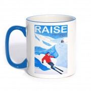 Original Classic Mug Blue Handle