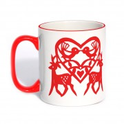 Original Classic Mug Red Handle
