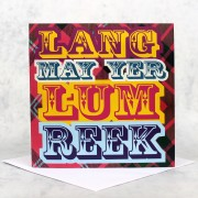 Lum Reek Greeting Card