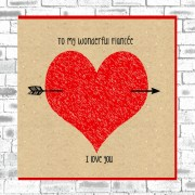 Eco Love You Card-Fiancee