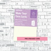A5 Creased Ivory Hammer Cards (100)