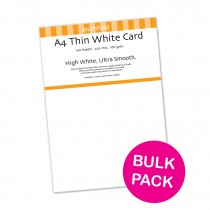 White Card 160gsm 100 sheets