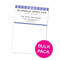 White Card 225gsm 100 sheets