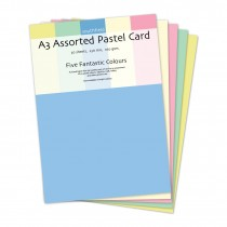 Pastel Card Assorted 30 sheets