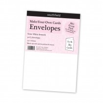C5 White Envelopes 50s