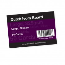 Dutch Ivory Cards